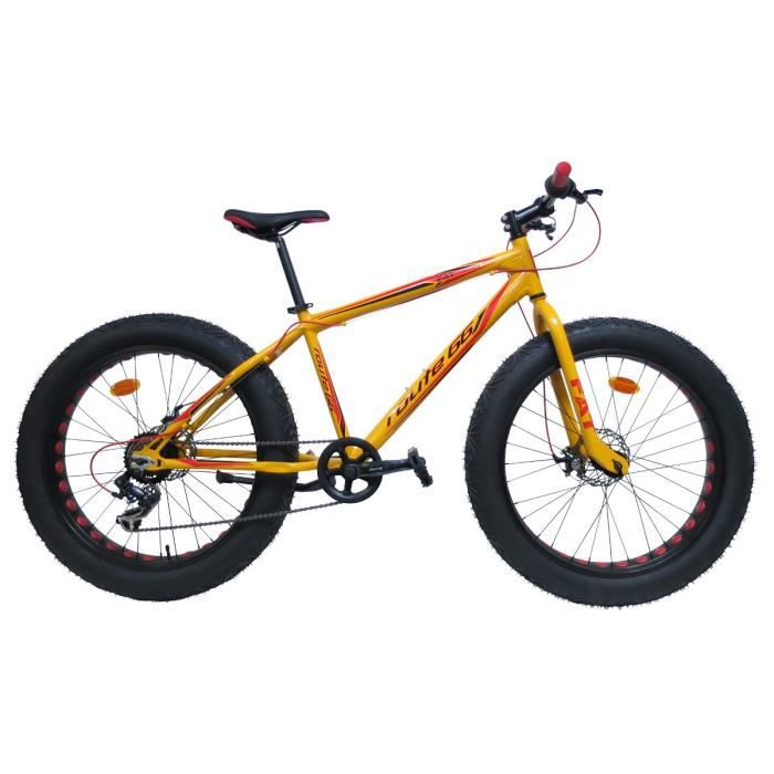 v lo vtt fatbike 26 pouces prix pas cher cdiscount. Black Bedroom Furniture Sets. Home Design Ideas