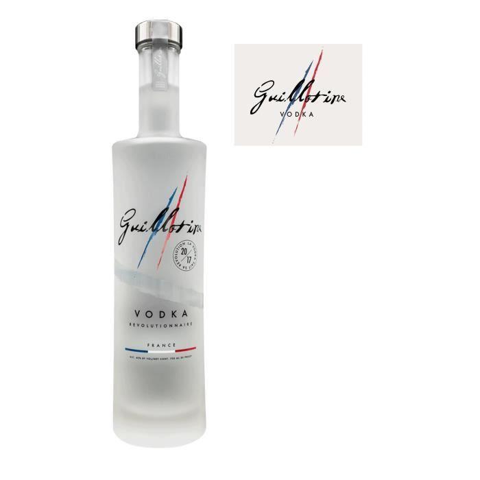 VODKA Guillotine - Vodka Française - 40% - 70 cl