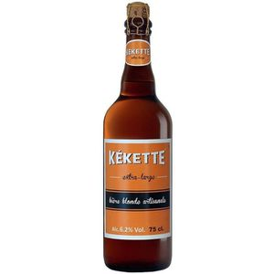 BIÈRE Kekette - Bière Blonde - 75 cl