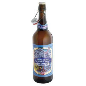 BIÈRE MONT BLANC Bière Blanche  0,75 L