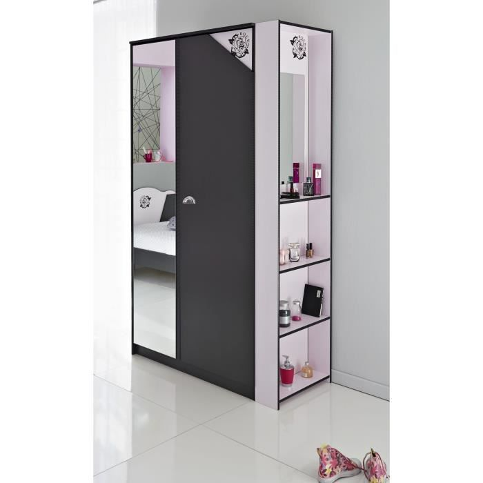 armoire mtallique alinea beautiful meuble chaussures. Black Bedroom Furniture Sets. Home Design Ideas