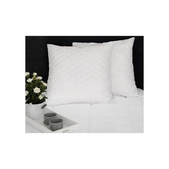 40x60 cm Dormipur lot DE 2 oreillers D/éhoussables a M/émoire de Forme Dreamer
