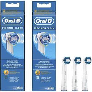 BROSSETTE PACK 2  Oral-B Precision Clean 3 brossettes de rec