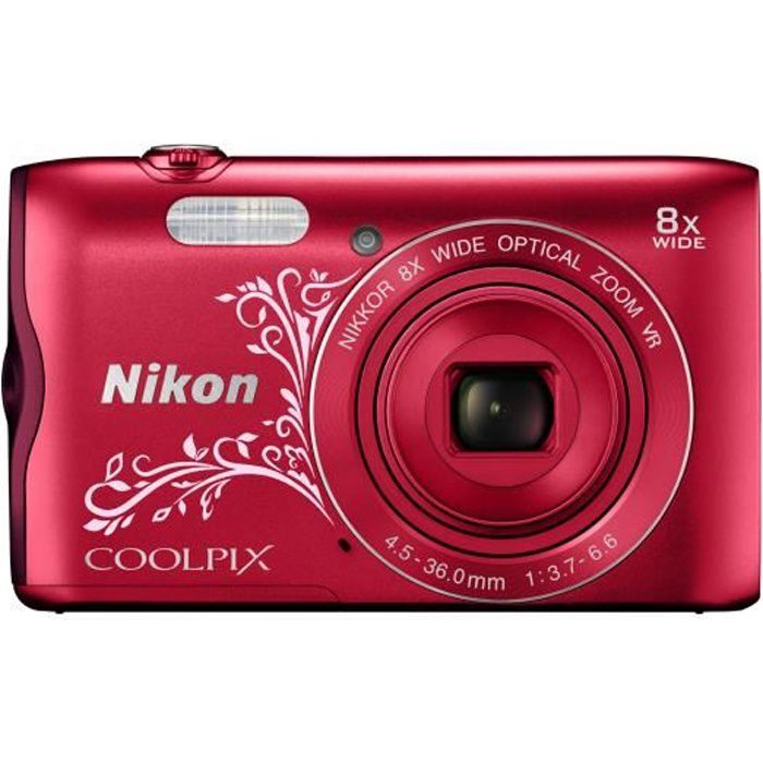 nikon coolpix a300 appareil photo num rique compact. Black Bedroom Furniture Sets. Home Design Ideas