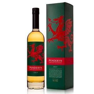 WHISKY BOURBON SCOTCH Penderyn Celt peated 41° 70cl