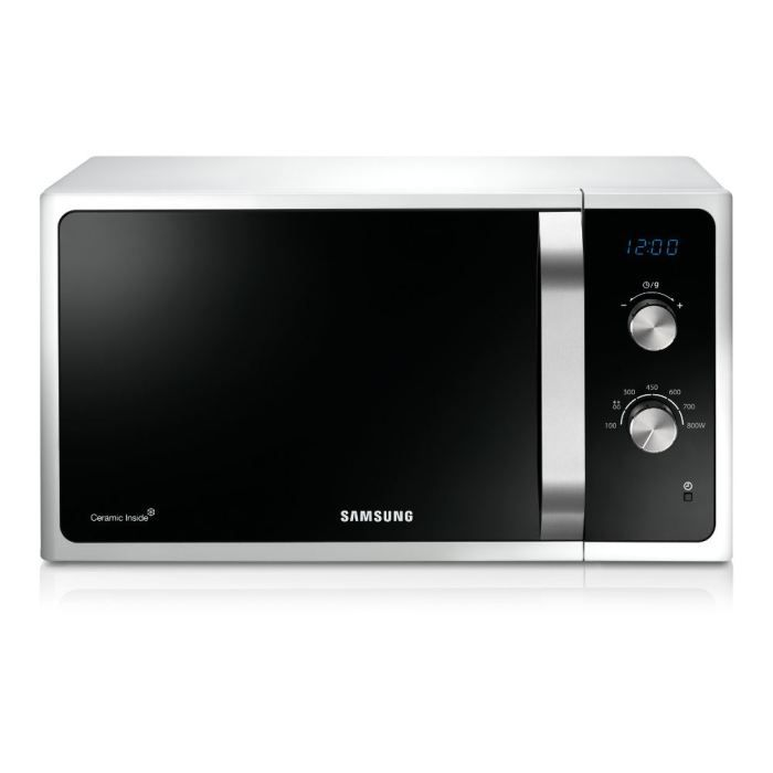 samsung ms23f300eaw micro ondes achat vente micro ondes cdiscount. Black Bedroom Furniture Sets. Home Design Ideas