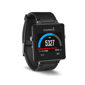 MONTRE OUTDOOR - MONTRE MARINE Garmin Vivoactive Montre GPS Connectée Noire Smart