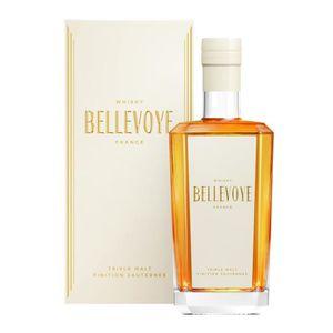 WHISKY BOURBON SCOTCH Bellevoye - Triple Malt Français - Whisky - Blanc