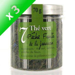 THÉ MAISON TAILLEFER Thé Vert Pêche/ Fruits de la Pass
