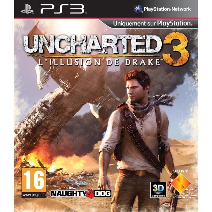 JEU PS3 UNCHARTED 3 DRAKE'S DECEPTION / Jeu console PS3