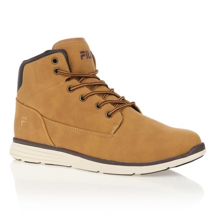 Marron Fila Lance Homme Baskets Chipmunk Clair Mid FJl1cK