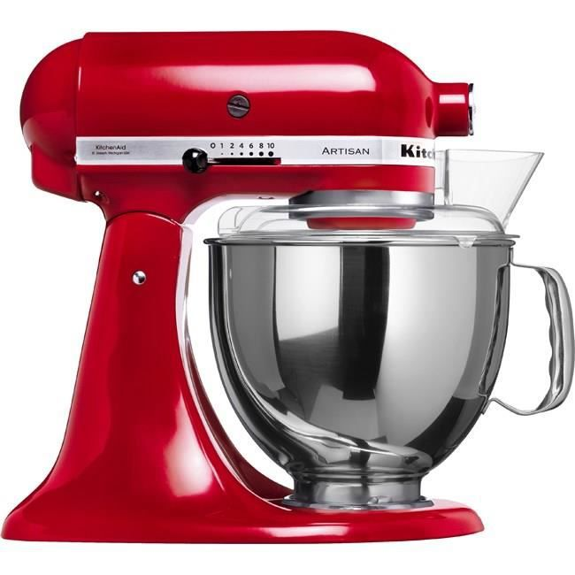 Kitchenaid robot p tissier artisan 5ksm150pseer rouge 4 for Avis sur robot kitchenaid