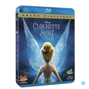 BLU RAY  DESSIN ANIME Blu-Ray Clochette et le secret des fées