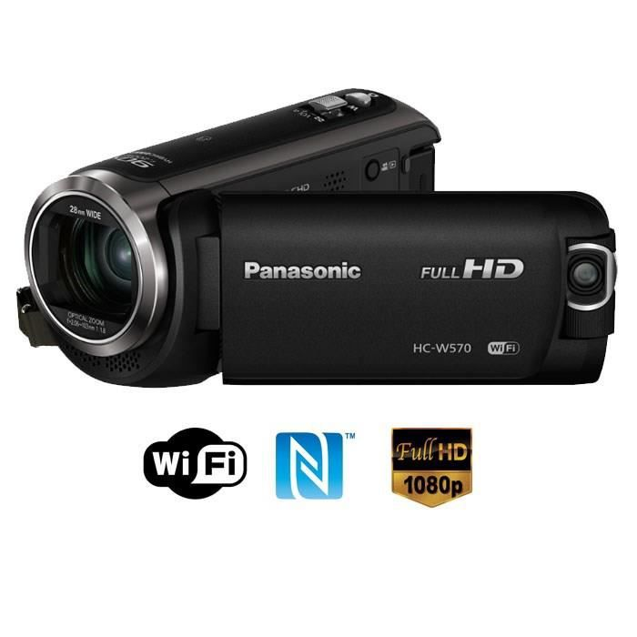 panasonic hc w570 double cam ra full hd wifi nfc achat vente cam scope num rique cdiscount. Black Bedroom Furniture Sets. Home Design Ideas