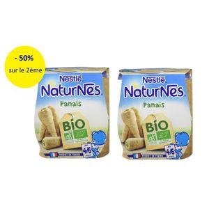PLATS CUISINÉS [LOT DE 2] NESTLÉ Naturnes Bio Panais - 2x130 g -