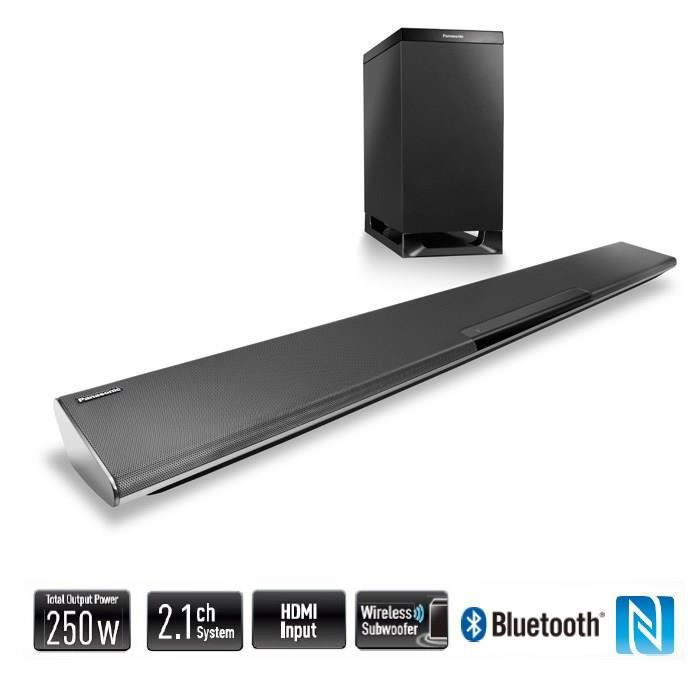 panasonic htb485 barre de son 2 1ch bluetooth 250w barre. Black Bedroom Furniture Sets. Home Design Ideas