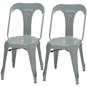 CHAISE KRAFT Zoeli Lot de 2 chaises de salle à manger - M