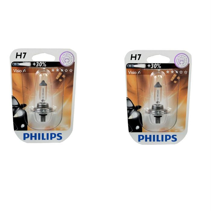 2 ampoules philips premium h7 12v 55w achat vente. Black Bedroom Furniture Sets. Home Design Ideas
