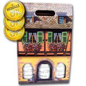 VIN BLANC Coffret Alsace J. Riss de 3 Grands Vins Médaillés
