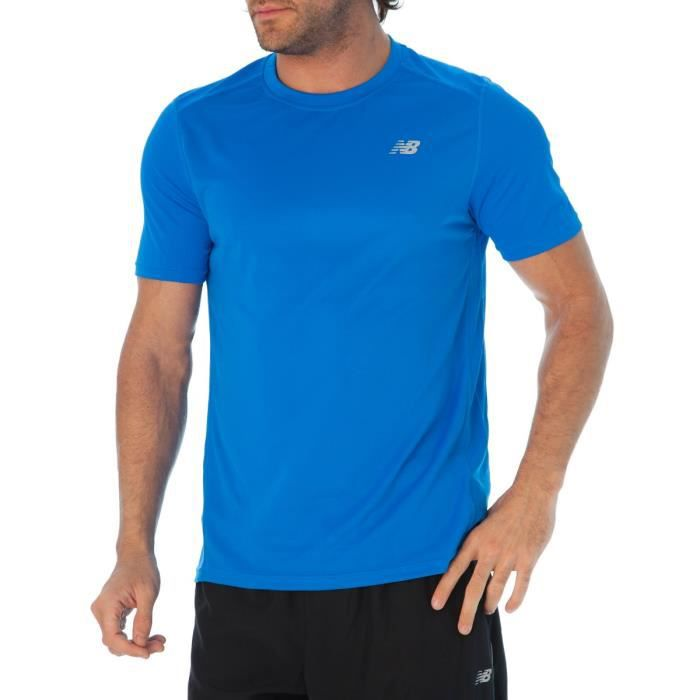 t shirt running new balance homme