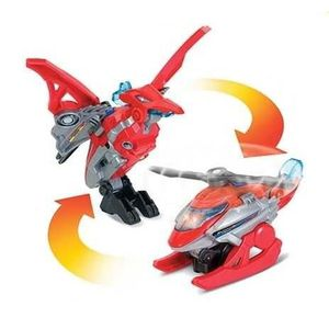 ROBOT - ANIMAL ANIMÉ Switch & Go Dinos Mini - Helion, Le Pteranodon (He