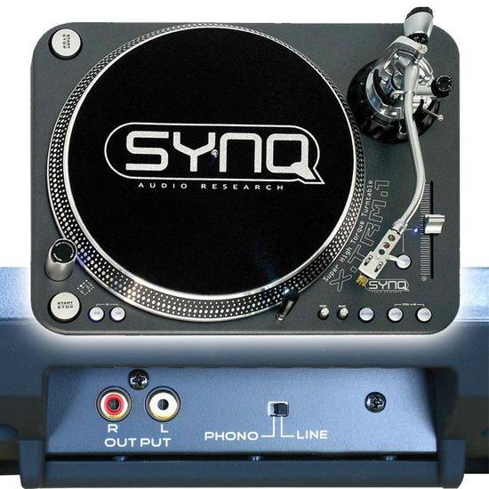 Synq XTRM1 Platine vinyle Gris
