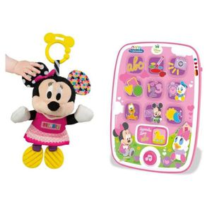 CUBE ÉVEIL CLEMENTONI Pack Baby Minnie - Ma premiere tablette