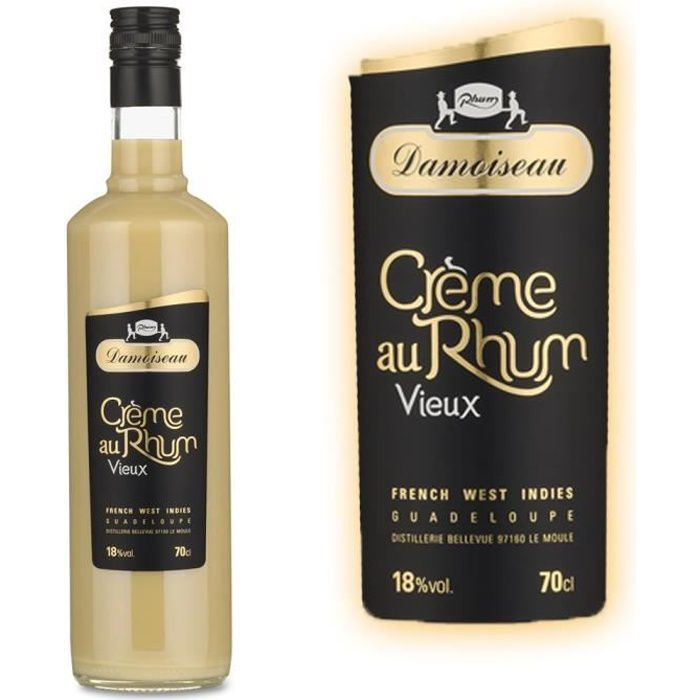 LIQUEUR Crême de Vieux Rhum Damoiseau  18° 70cl