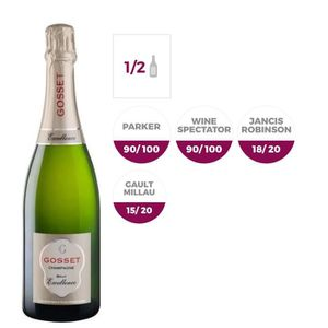 CHAMPAGNE Champagne Gosset Brut Excellence - 37,5 cl