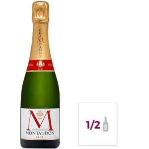 CHAMPAGNE Champagne Montaudon Brut - 37,5 cl