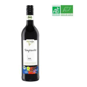 VIN ROUGE Biorebe Tempranillo - Vin rouge d'Espagne