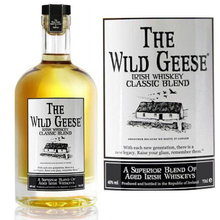WHISKY BOURBON SCOTCH The Wild Geese Original Blend