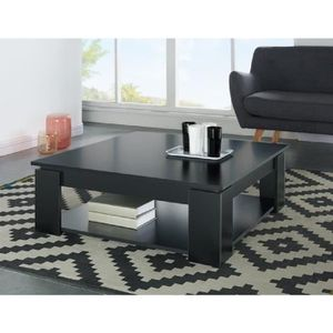 table basse carree metal achat vente table basse carree metal pas cher cdiscount. Black Bedroom Furniture Sets. Home Design Ideas