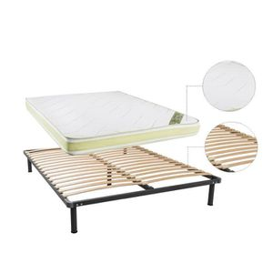 ensemble sommier matelas 180x200 memoire de forme achat. Black Bedroom Furniture Sets. Home Design Ideas
