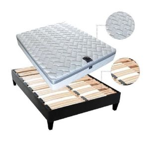 ensemble matelas sommier 180x200 achat vente ensemble matelas sommier 180x200 pas cher. Black Bedroom Furniture Sets. Home Design Ideas
