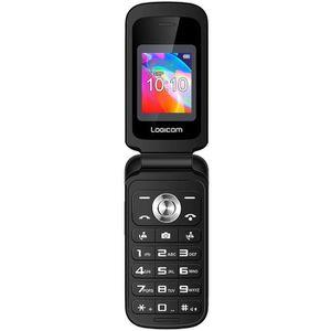 Téléphone portable LOGICOM Le FLEEP Feature Phone Noir 32 Mo