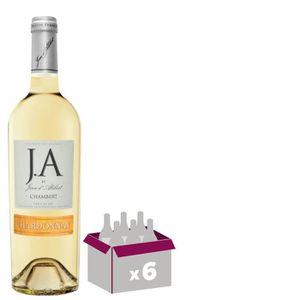 VIN BLANC J.A By Jean d'Alibert Chardonnay Chambert 2018 Pay