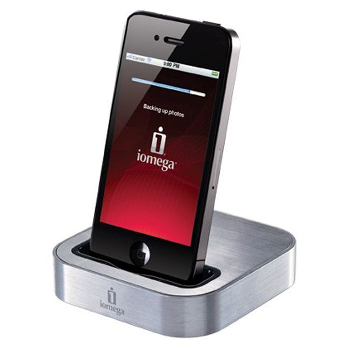 iomega support et chargeur pour iphone et ipod achat. Black Bedroom Furniture Sets. Home Design Ideas