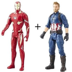 FIGURINE - PERSONNAGE Avengers Infinity War - Lot de 2 figurines, Iron M