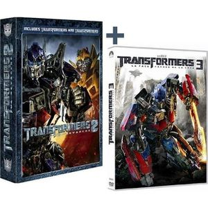DVD FILM Coffret DVD Transformers 1 + 2 + Transformers 3