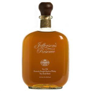 WHISKY BOURBON SCOTCH Jefferson 's Reserve Bourbon Whisky