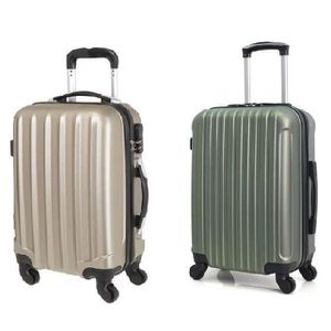 VALISE - BAGAGE HERO Set de 2 Valises Cabine 4 Roues ABS CABINE Ch