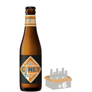BIÈRE CINEY Bière Blonde - 6x 33 cl - 7 %