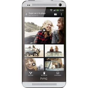 SMARTPHONE HTC ONE Silver 4G