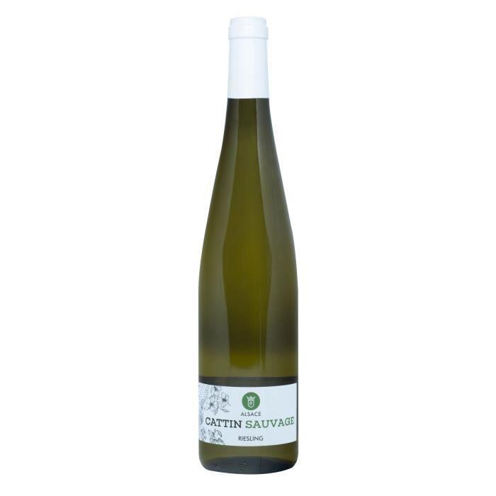 VIN BLANC Cattin Sauvage 2018 Riesling - Vin blanc d'Alsace