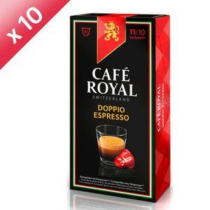 CAFÉ Lot de 100 capsules Café Royal Doppio Espresso Cap