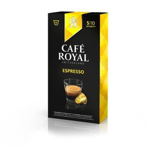 CAFÉ 10 capsules Cafe Royal Espresso Capsules compatibl