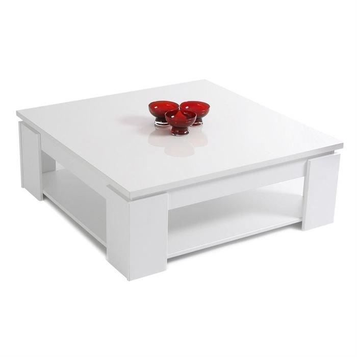 Tables basses achat vente tables basses pas cher cdiscount - Table basse blanche but ...
