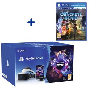 CASQUE RÉALITÉ VIRTUELLE Pack PlayStation VR V2 MK4 + PlayStation Caméra V2