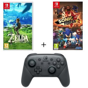 NINTENDO SWITCH Pack 2 jeux Nintendo Switch : The Legend of Zelda